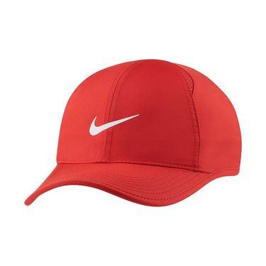 Nike Featherlight Hat - University Red/White