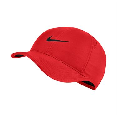 Nike Womens Featherlight Hat - Chile Red/Black