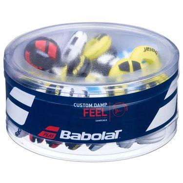 Babolat Custom Damp Vibration Dampeners - 48 Pack Assorted Colors 700041