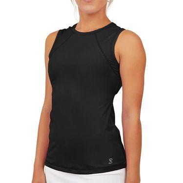 Sofibella UV Sleeveless Tank Womens Black 7003 BLK