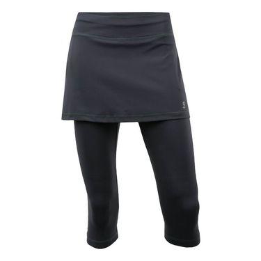 Sofibella Abaza Skirt w/Leggings Plus Size Womens Grey 7011 GRYP