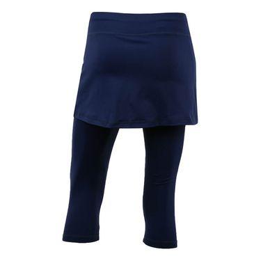 Sofibella Plus Size Abaza Skirt w/Leggings - Navy