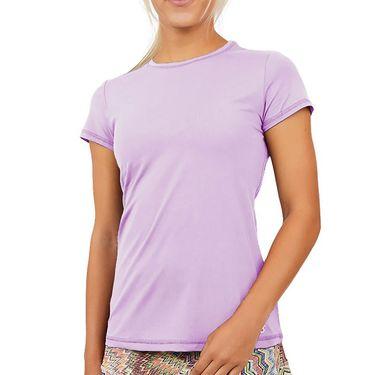 Sofibella UV Short Sleeve Top Womens Lavender 7012 LAV