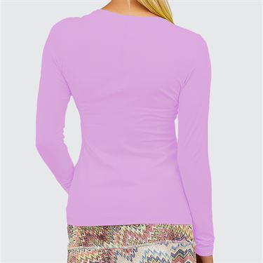 Sofibella UV Colors Long Sleeve Top Womens Lavendar 7013 LAV