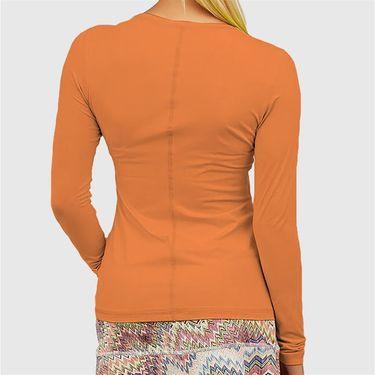 Sofibella UV Long Sleeve Top Womens Nectarine 7013 NEC