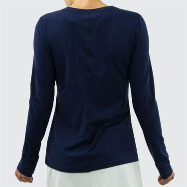 Sofibella UV Long Sleeve Top - Navy