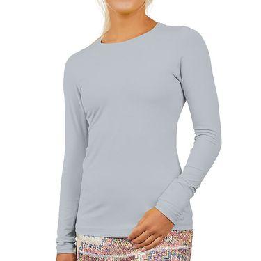 Sofibella UV Colors Long Sleeve Top Womens Stone 7013 STO