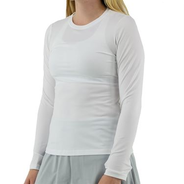 Sofibella UV Long Sleeve Top - White
