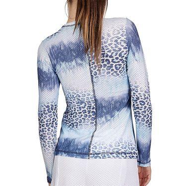 Sofibella Air Flow Long Sleeve Top Womens Panther Wash 7013W PAN