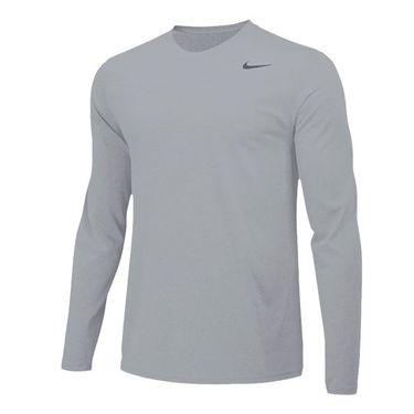 Nike Team Legend Long Sleeve - Carbon Heather/Black