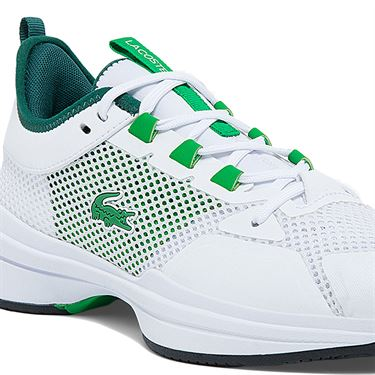 Lacoste AG LT 21 Mens Tennis Shoe White/Green 742SMA0077 082