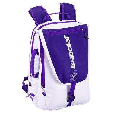 Babolat Pure Wimbledon Tennis Backpack - White/Purple
