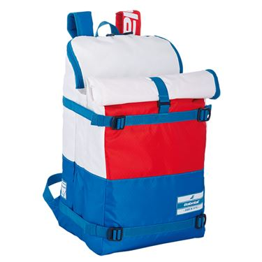 Babolat EVO Tennis Backpack - White/Blue/Red