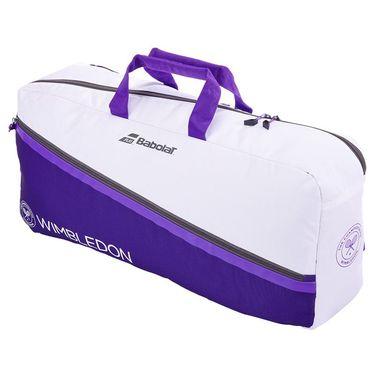 Babolat Pure Wimbledon Tennis Duffle - White/Purple
