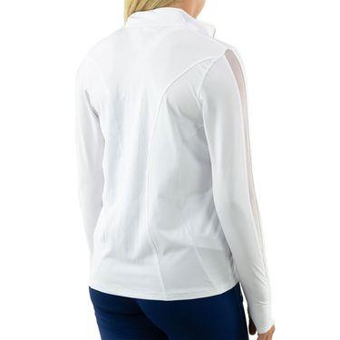 Cross Court Essentials Jacket Womens White 8200 CO 0110