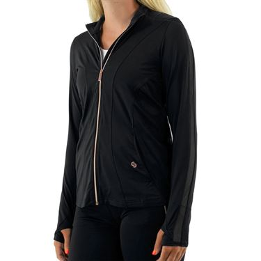 Cross Court Essentials Jacket Womens Black 8200 CO 1000