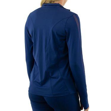 Cross Court Essentials Jacket Womens Indigo 8200 CO 8068