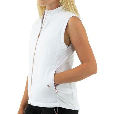 Cross Court Essentials Vest Womens White 8201 CO 0110