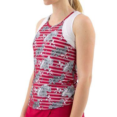 Bolle Cherry Blossom T Back Scoop Neck Tank Womens Cherry Blossom Print 8403 30 0110û