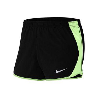 Nike Dri FIT Shorts Womens Black/Barely Volt/Wolf Grey 849394 065