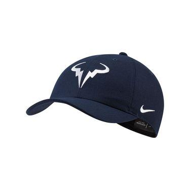 Nike Rafa Hat - Obsidian/White