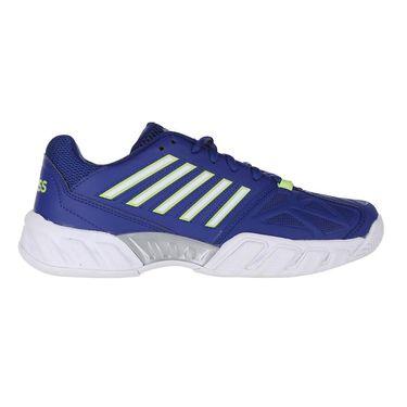 K Swiss Junior Bigshot Light 3 Tennis Shoe Limoges/Sharp Green/Silver 85366 448