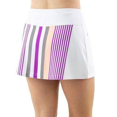 Cross Court Violet Dreams A Line Skirt Womens White 8615 30 0110û