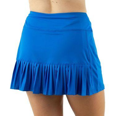 Cross Court Electra Back Ruffle Skirt Womens Electric Blue 8625 31 4406