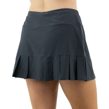 Cross Court Essentials Side Pleated Skirt Womens Grey 8650 CO 2018