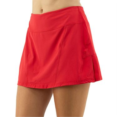 Cross Court Essentials Side Pleated Skirt Womens Red 8650 CO 7480
