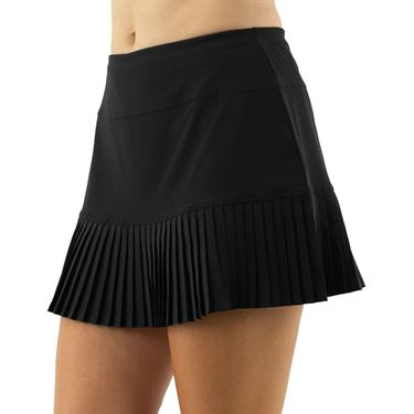 Cross Court Essentials Ruffled Skirt Womens Black 8651 CO 1000