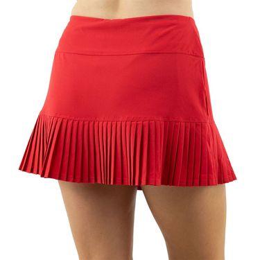 Cross Court Essentials Ruffled Skirt Womens Red 8651 CO 7480