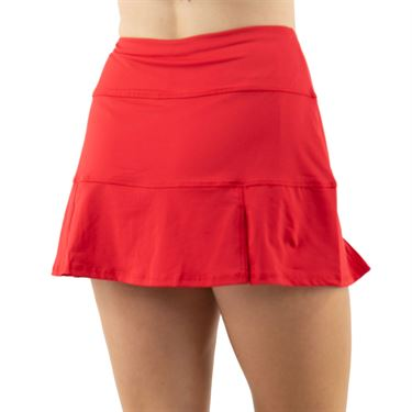 Cross Court Essentials Pleated Skirt Womens Red 8652 CO 7480
