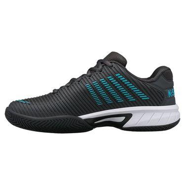 K Swiss Hypercourt Express 2 Junior Tennis Shoe Dark Shadow/Scuba Blue/White 86613 028
