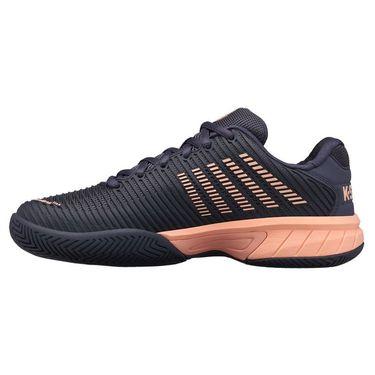 K Swiss Hypercourt Express 2 Junior Tennis Shoe Graystone/Peach Nectar 86613 032
