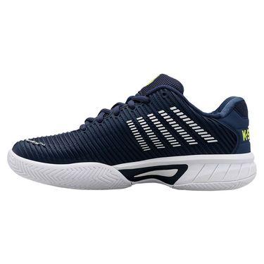 K Swiss Junior Hypercourt Express 2 Tennis Shoe Moonlit Ocean/White/Love Bird 86613 420