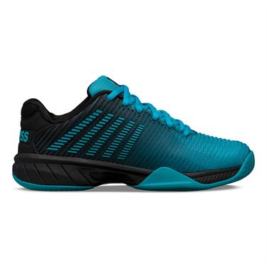 K Swiss Junior Hypercourt Express 2 Tennis Shoe Algiers Blue/Black 86613 426