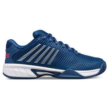 K Swiss Hypercourt Express 2 Junior Tennis Shoe Dark Blue/White/Bittersweet 86613 433