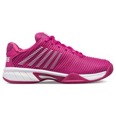 K Swiss Hypercourt Express 2 Junior Tennis Shoe Cactus Flower/White 86613 668