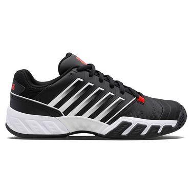 K Swiss Junior Bigshot Light 4 Tennis Shoe Black/White/Poppy Red 86989 043