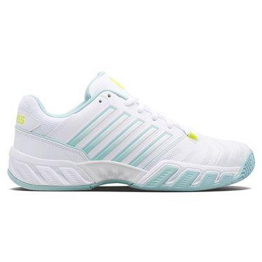 K Swiss Junior Bigshot Light 4 Tennis Shoe White/Icy Mourn/Love Bird 86989 132