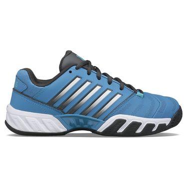 K Swiss Bigshot Light 4 Junior Tennis Shoe Swedish Blue/Dark Shadow/Scuba Blue 86989 417