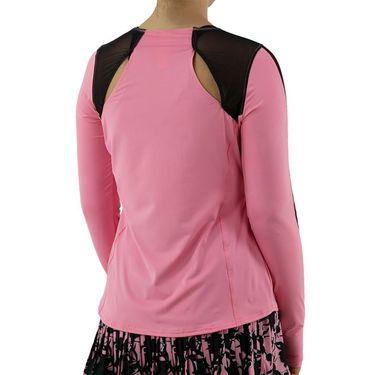 Cross Court Palm Springs Long Sleeve Top Womens Carnation 8734 7262