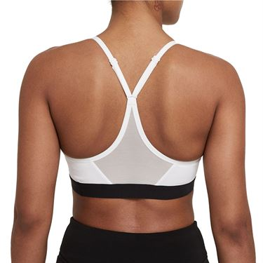 Nike Indy Sports Bra Womens White/Black 878614 100
