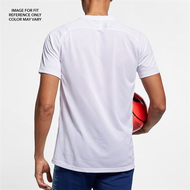 Nike Dry Tiempo Premier Short Sleeve Jersey - Game Royal/White