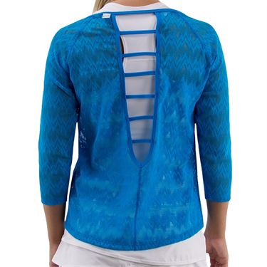 BPassionit Coming Up Daisies Plunge Top Womens Brite Turquoise 901012 BTU