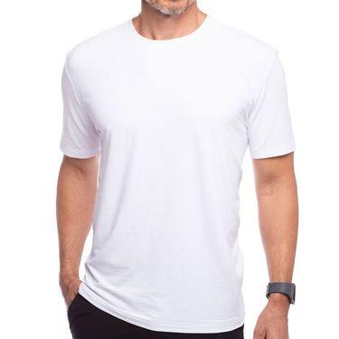 IBKUL Short Sleeve Crew Mens White 92199 WHT