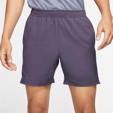 Nike Court Dry 7 inch Short Mens Gridiron/White 939273 015