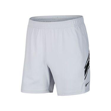 Nike Court Dry 7 inch Short Mens Sky Grey/Black 939273 042