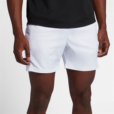 Nike Court Dry 7 Inch Short - White